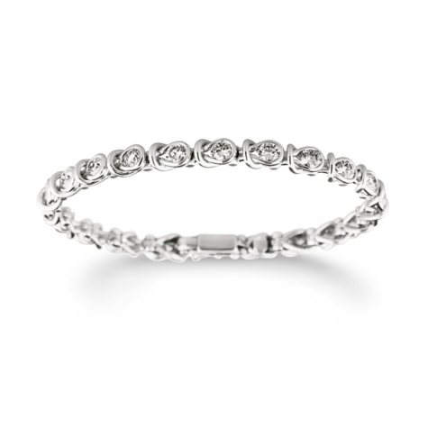 2.96 ct. t.w. Everlon™ Diamond Bracelet in 14K White Gold (I, I1)