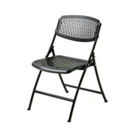 Mity Lite Flex Folding Chair, Black, Choose Your Quantity