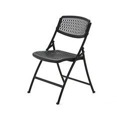 Mity Lite Flex One Folding Chair, Black - 4 pack