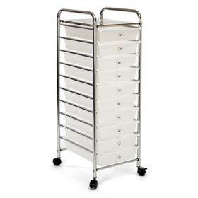 Seville Classics 10 Drawer Cart Mulitple Colors Sam S Club