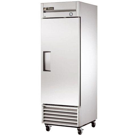 True 1-Door Stainless Steel Reach-In Refrigerator - 23 cu. ft.