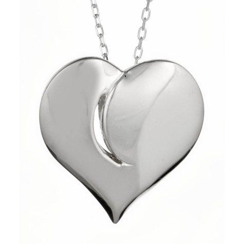 """Light in My Heart"" Sterling Silver Medium Pendant"