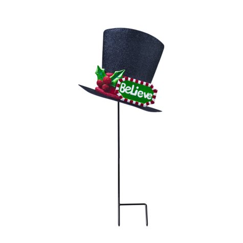 Metal Yard Stakes - Hat