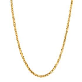 14K Italian Gold Spiga Link Chain