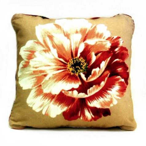"""16"""" Square Outdoor Accent Pillows - Carla Beige - 2 pk."""