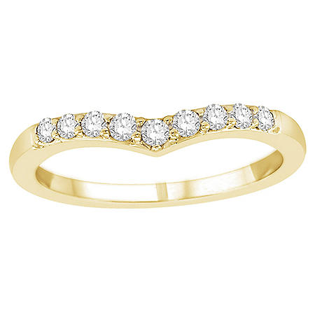 0.25 CT. T.W. Diamond Enhancer Ring in 14k Gold (H-I, I1)