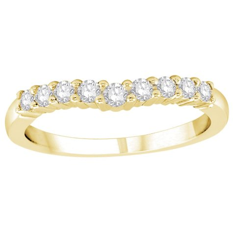 .32 ct. t.w. Diamond Enhancer Band in 14K Yellow Gold (H-I, I1)
