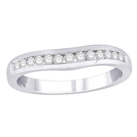 0.25 ct. t.w. Diamond Enhancer Ring in 14K White Gold (H-I, I1)