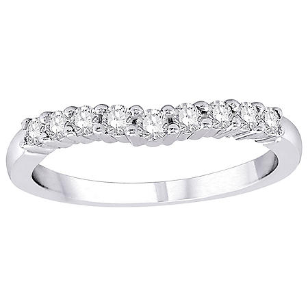 0.32 CT. T.W. Diamond Enhancer Band in 14K Gold (H-I, I1)