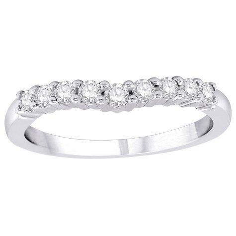 .32 ct. t.w. Diamond Enhancer Band in 14K White Gold (H-I, I1)