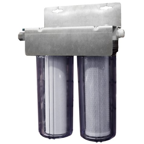 """Ice Machine 10"""" Twin Filters Water Filter System"""