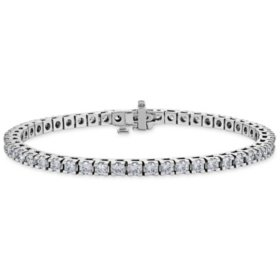 4.95 CT. T.W. Diamond Tennis Bracelet in 14K Gold (H-I, I1)