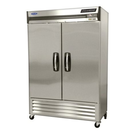 Nor-Lake AdvantEDGE 2-Door Stainless Steel Reach-In Refrigerator - 49 cu. ft.