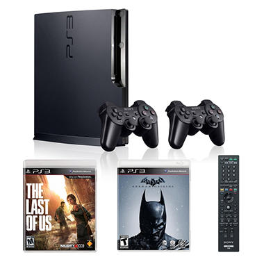 PS3 250GB Holiday Bundle - Includes DualShock Controller and Blu-ray Remote