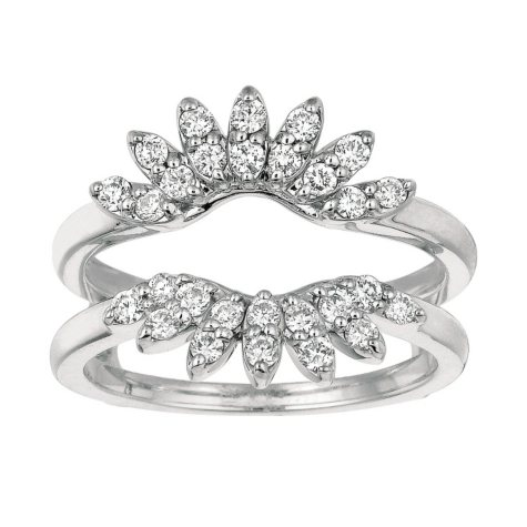 0.56 ct. t.w. Round-Cut Diamond Ring Guard (I, I1)
