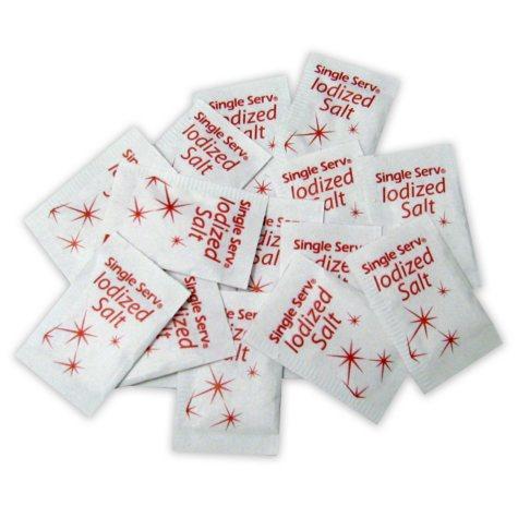 Salt Packets - Single Serve Portion Packs - 3000 ct.