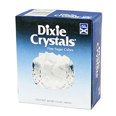 Dixie Crystals' Sugar Cubes - 1 lb. Boxes - 12 ct.