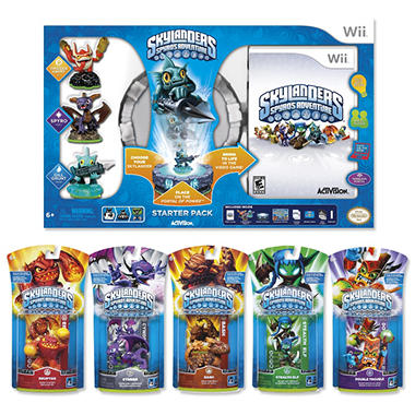 Skylanders Starter Pack with Single  Character Pack (you choose!)