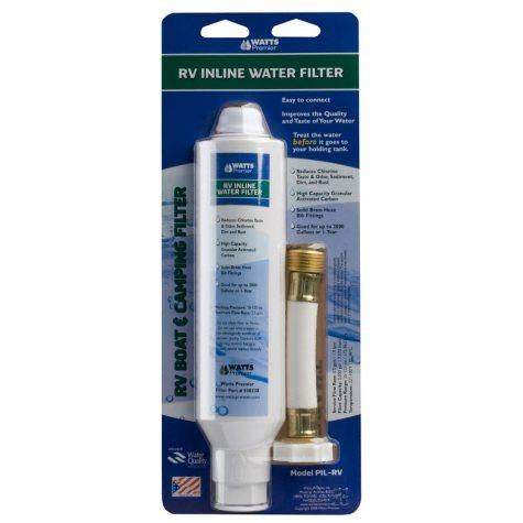 Watts Premier In-Line RV Filter Kit