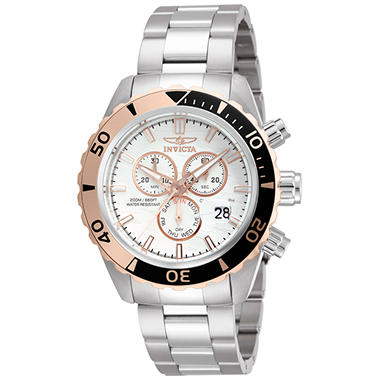 Invicta Pro Diver Sport Chronograph Watch - Gold