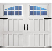 Classica 2000 Northampton Garage Door - White 9 x 8 Seine