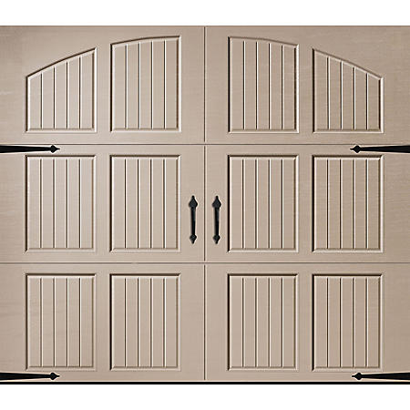 Amarr Classica 3000 Sandtone Carriage House Garage Door (Multiple Options)