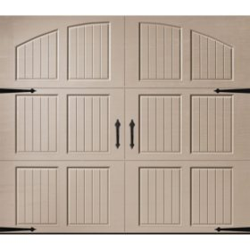 Amarr Classica 2000 Sandtone Carriage House Garage Door (Multiple Options)