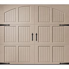 Amarr Classica 1000 Sandtone Carriage House Garage Door (Multiple Options)