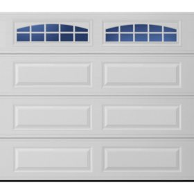 Amarr Lincoln 3138 Traditional Garage Door Long Panel Design Multiple Options Sam S Club