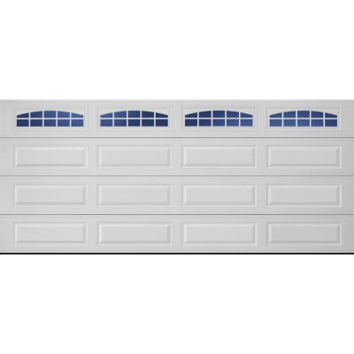 16 x 7 garage doorAmarr Stratford 3000 White Panel Garage Door Multiple Options