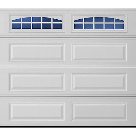 Amarr Lincoln 1000 Series White Panel Garage Door (Multiple Options)