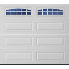 Amarr Stratford 1000 Series White Panel Garage Door (Multiple Options)