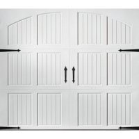Amarr Classica 2000 White Carriage House Garage Door (Multiple Options)