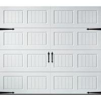 Amarr Hillcrest 2000 White Carriage House Garage Door (Multiple Options)
