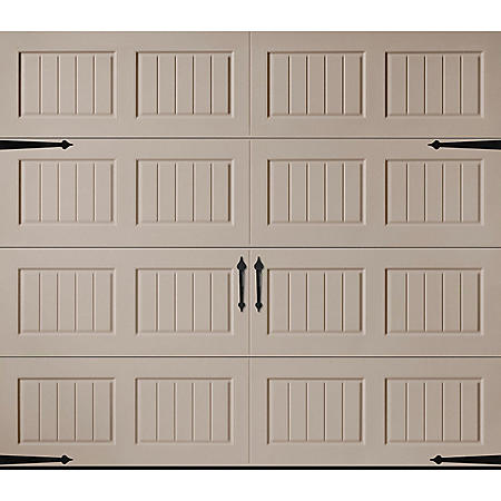 Amarr Hillcrest 1000 Sandtone Panel Garage Door (Multiple Options)