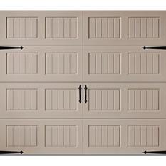 Amarr Oak Summit 1000 Sandtone Panel Garage Door (Multiple Options)