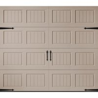 Amarr Hillcrest 1000 Sandtone Panel Garage Door (Multiple Options)