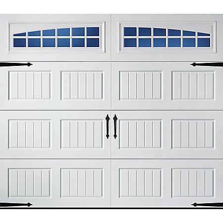 Amarr Hillcrest 1000 White Panel Garage Door (Multiple Options)