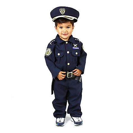 Halloween Costume 4 5.Children S Halloween Dress Up Police Officer Costume With With Hat