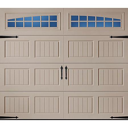 Amarr Hillcrest 3138 Carriage House Garage Door - Short Bead Board Panel Design (Multiple Options)