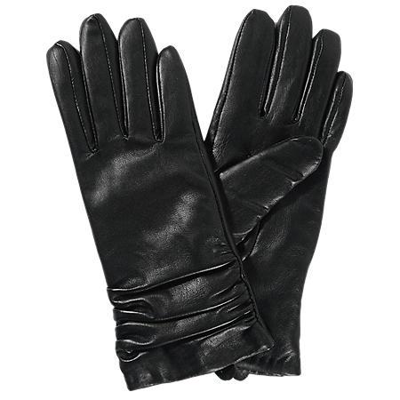 6dd04b6cecd5a Women s Premium Lambskin Leather Gloves - Black - Sam s Club