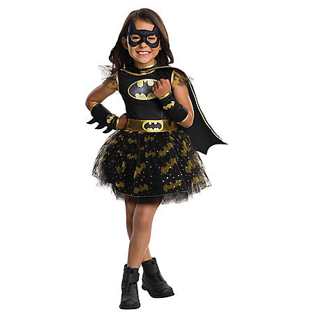 Batgirl Tutu Dress Halloween Costume