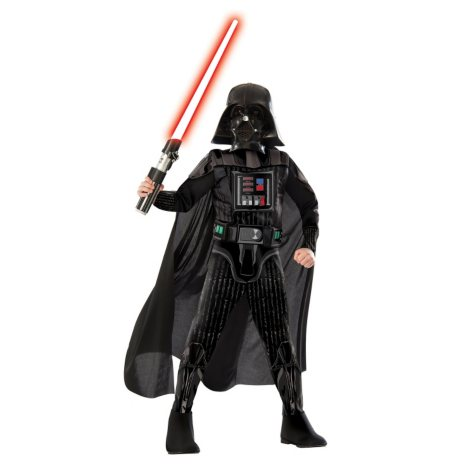 Classic Darth Vader Muscle-Chest Halloween Costume Small