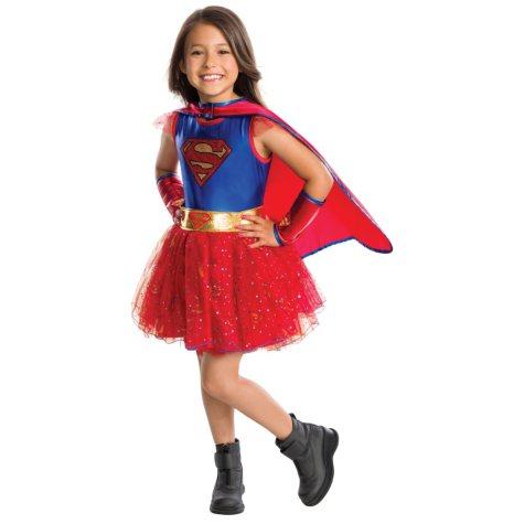 Supergirl Tutu Dress Halloween Costume Small