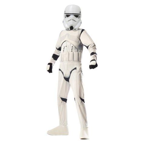 Classic Storm Trooper Muscle-Chest Halloween Costume Medium