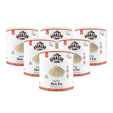 Augason Farms Long Grain White Rice (6 pk.)