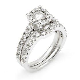 1.50 CT. T.W. Unity Diamond Engagement Set I, I1