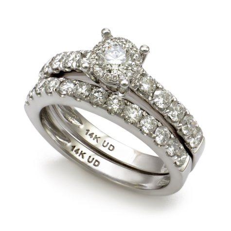 1.50 CT. T.W. Unique Brilliance Diamond Engagement Ring Set in 14K Gold HI, I1