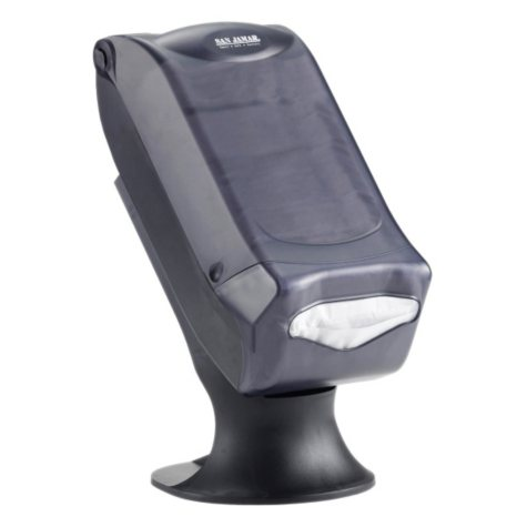 San Jamar Napkin Dispenser with Stand - Black