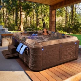 Everlast Spas Grand Estate 90-Jet Spa, Tuscan Sun